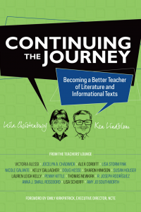 Book cover for Continuing the Journey by Leila Christenbury and Ken Lindblom