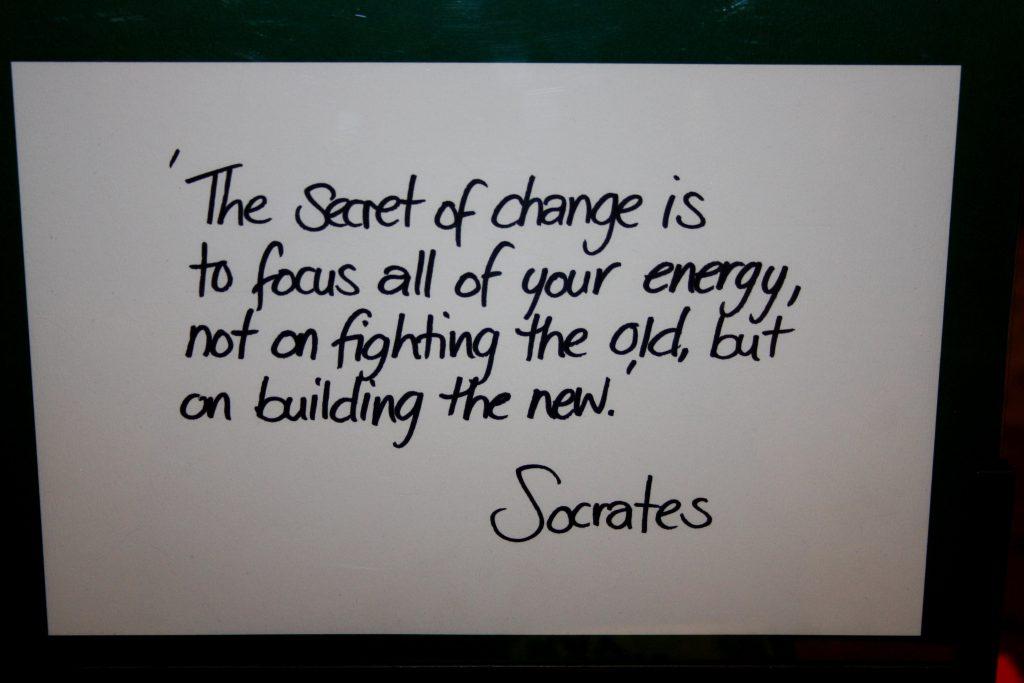 writing of socrates