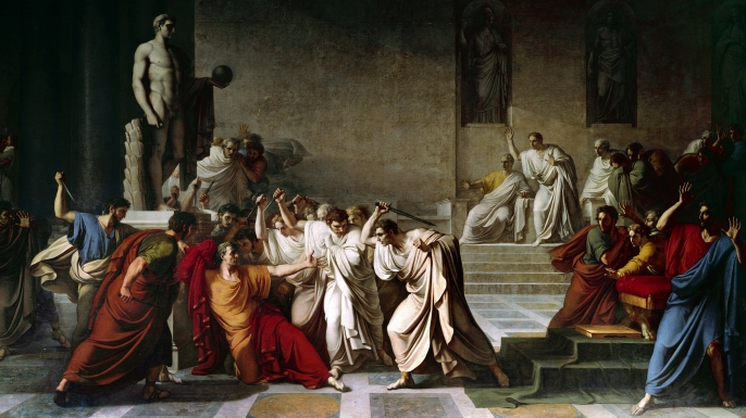 an introduction to the causes for the assassination of gaius julius caesar Gaius julius caesar is known today as one of  propaganda11 in the introduction of his eulogy  being one of the causes of his assassination.