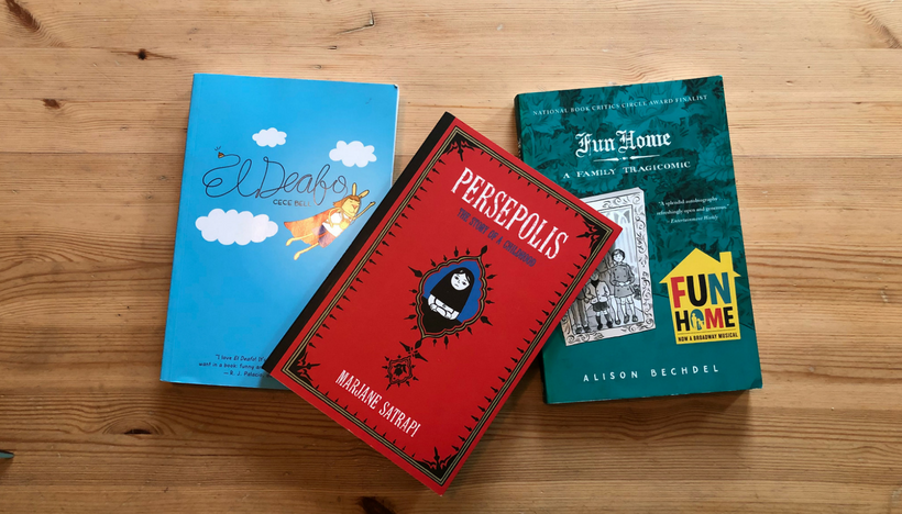 El Deafo, Persepolis, Fun Home