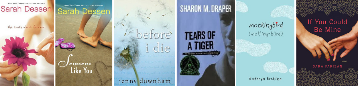 Book Recommendations: YA Books That Deal with Grief - NCTE