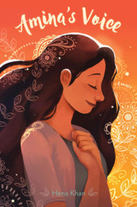 Cover of Amina's Voice by Hena Khan