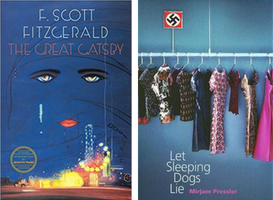The Great Gatsby by F. Scott Fitzgerald and Let Sleeping Dogs Lie by Mirjam Pressler