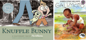Knuffle Bunny by Mo Willems and Galimoto by Karen Lynn Williams