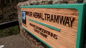 Entrance to Wyler Aerial Tramway State Park. Photo Courtesy of Texas Parks and Wildlife Department @2015
