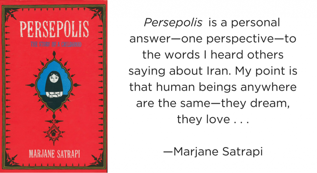 One Story One Book Banning Persepolis Ncte