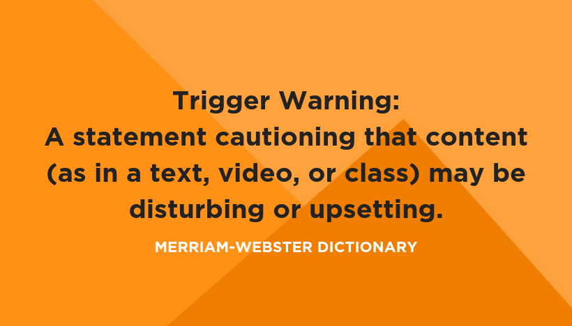 Trigger Warnings Threaten Our Students' Learning - NCTE